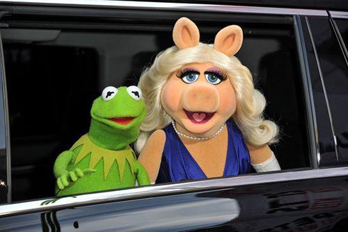 Muppets Miss Piggy Kermit Frog