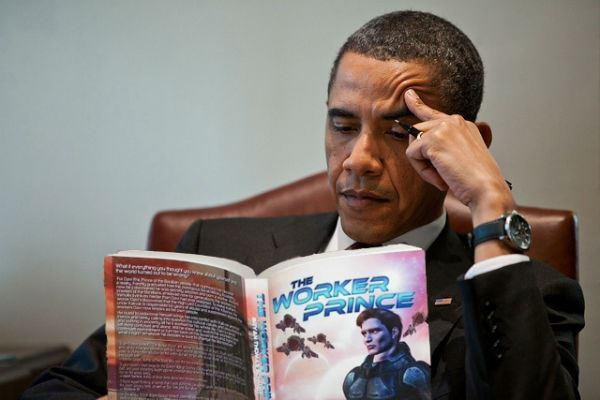 Obama Reading