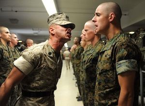 Top 10 Confession Highlights of 2013: Candidate in Marine Corps going through Boot Camp