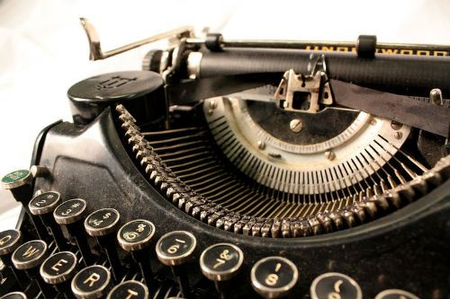 Writing: Are You Criticized By Colleagues: Old Typewriter by Kaheriynne Anne