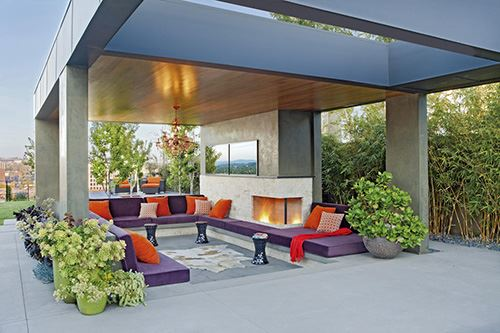 Outdoor Interior Design