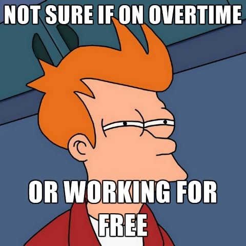 Overtime or Working for Free