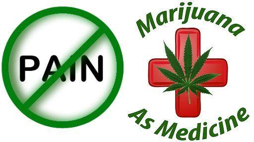 Pain Reliever Marijuana