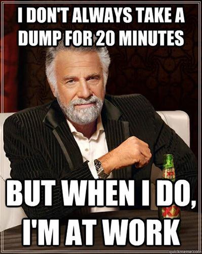 Poop at Work