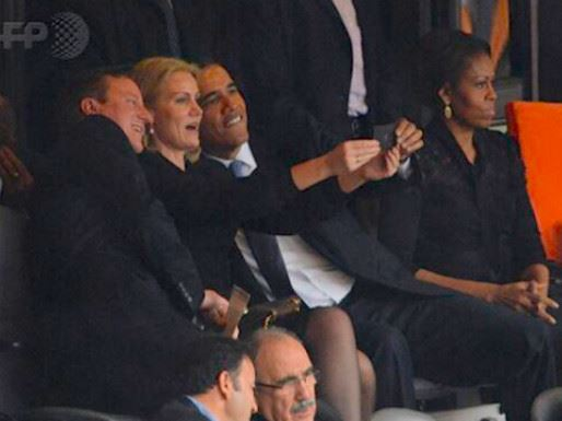 The Woman in Power: President Barack Obama, Danish Prime Minister Helle Thorning Schmidt and British Prime Minister David Cameron