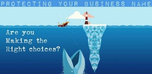 Protecting Business Name Graphic