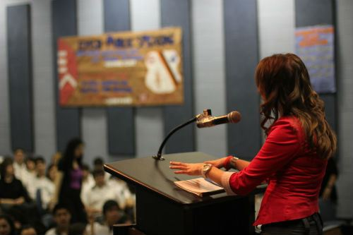 Public Speaking Podium