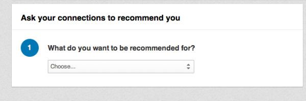 Recommendation Screengrab