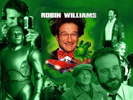 Robin Williams Collage Movies
