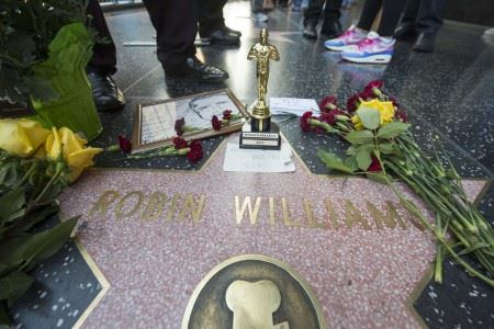 ROBIN WILLIAMS STAR HOLLYWOOD WALK OF FAME