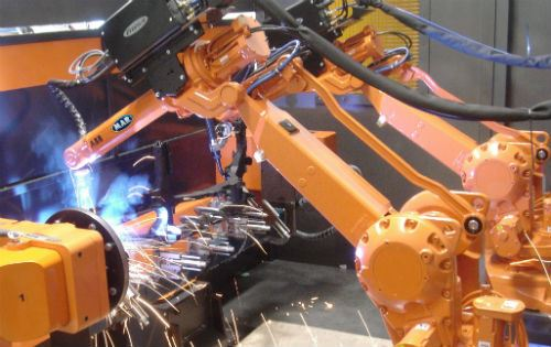 Robotic Dual Automation Welding